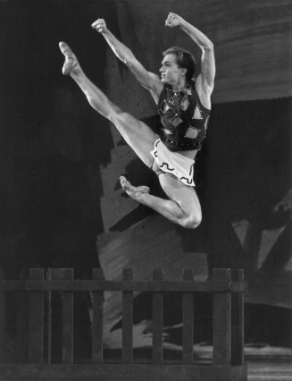 Peter Boal in 1970s Prodigal Son, choreographed by George Balanchine © The George Balanchine Trust. Photo © Paul Kolnik.